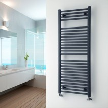 Heated Towel Rail 1700 x 600 Anthracite