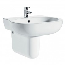 City 450 Washbasin & Semi Pedestal Pack