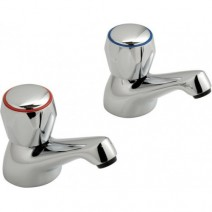Bath Pillar Taps Pair