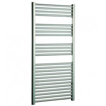 SHS Flat Heated Towel Rail Chrome