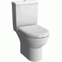 Vitra S50 Open Back Close Coupled WC Pack